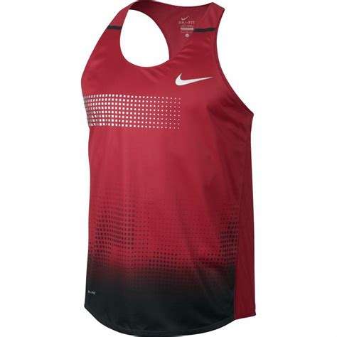 Singlet Nike nike distance singlet running nike and distance