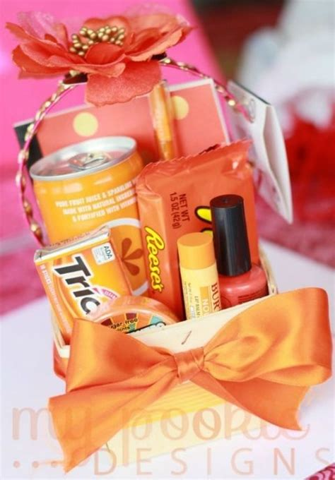 25 best ideas about orange gift basket on summer gift baskets thank you gift