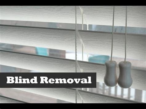 How To Remove Blinds From Window Frame how to remove install vinyl blinds diy blind installation and removal tips