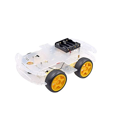 Smart Robot Car Chassis Chasis Kit Speed Encoder 2wd For Arduino new motor smart robot car chassis kit speed encoder