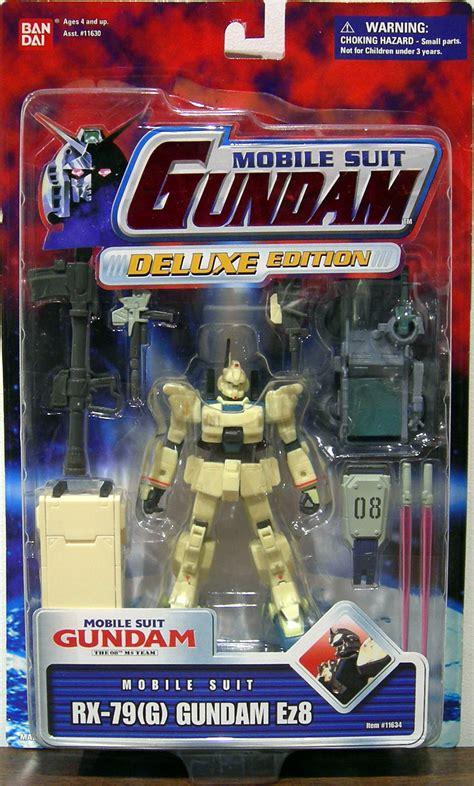 g gundam figures sale rx 79g gundam ez8 figure mobile suit deluxe edition