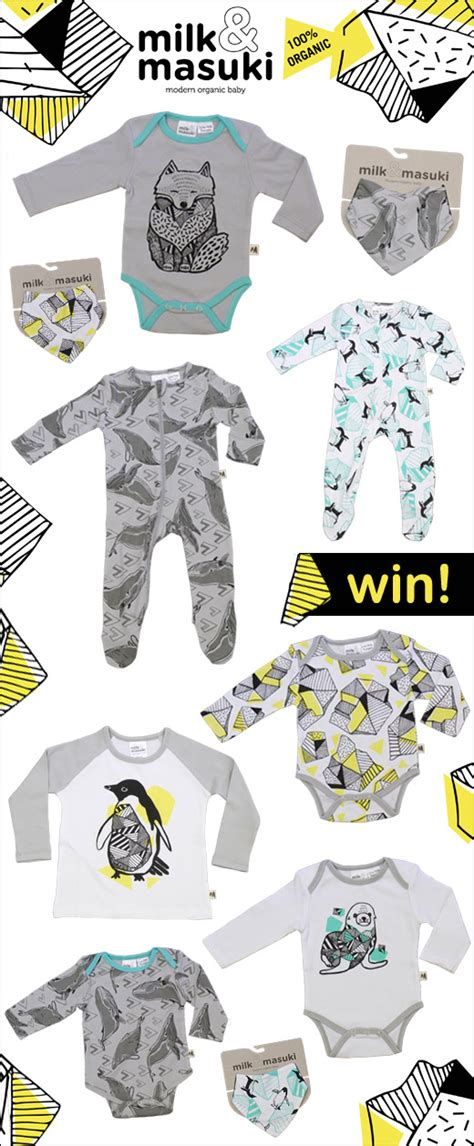 Milk Giveaway - giveaway milk masuki aw14 organic baby and kids clothing onesies t shirts