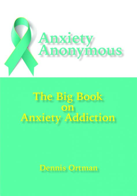 Anxiety Detox by Anxiety Anonymous The Big Book Of Anxiety Addiction Msi