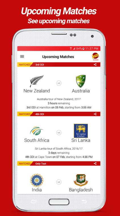 cricket app jazz launches a cricket app to keep fans up to date with