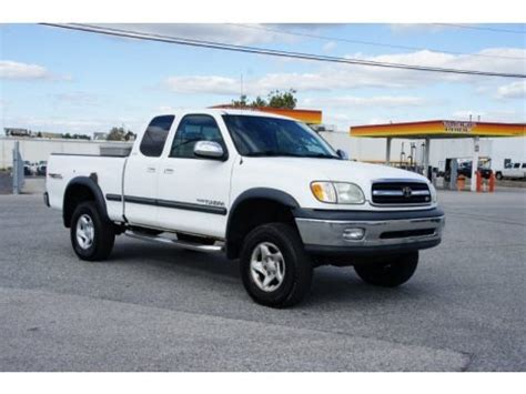2001 Toyota Tundra Specs 2001 Toyota Tundra Sr5 Extended Cab 4x4 Data Info And
