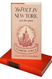 libro poet in new york the poet in new york and other poems la librer 237 a de javier