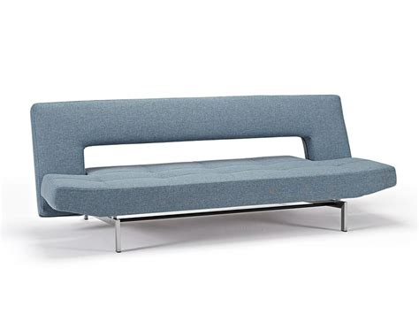 Innovation Living Sofa Bed Wing Deluxe Sofa Bed Mixed Dance Light Blue By Innovation