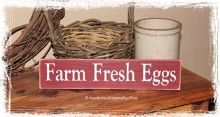 Farm Fresh Eggs Shelf by Kitchen Signs Country Kitchen Decor Farm Fresh Eggs