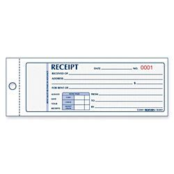 Numbered Receipt Template 4 Per Page by Rediform Numbered Carbonless Receipt Book 100 Sheets 2