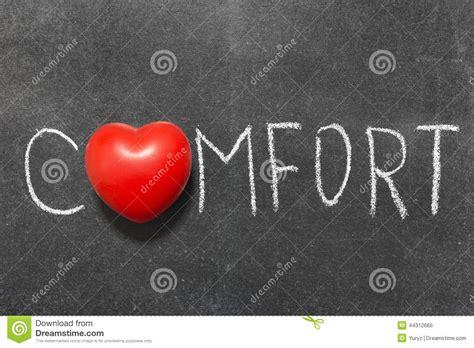 symbol for comfort comfort stock photo image 44312665
