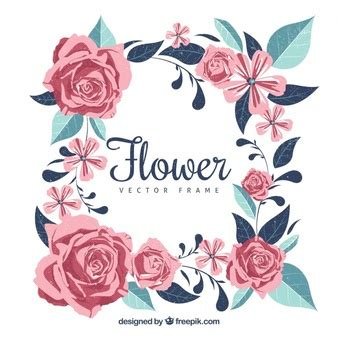 cornice floreale floral grunge foto e vettori gratis