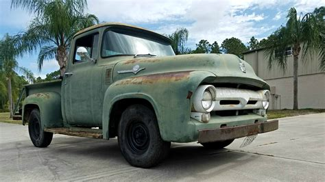 1956 Ford F100 by Solid Bed 1956 Ford F100