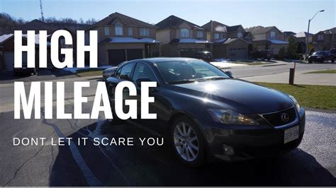 High Mileage Lexus by Busting Myths About High Mileage Cars Lexus Is250 With