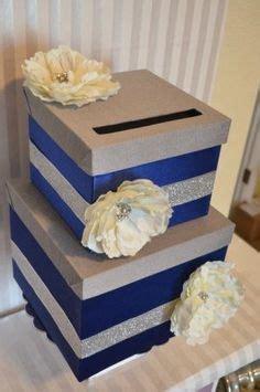 Yzam Sabrina Flower Navy distressed navy blue and white wedding cards box navy blue wedding decor wedding flower and