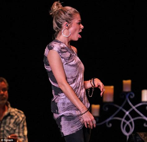 Leann Rimes Is Happy She Isnt In Rehab by Leann Rimes Shows A Roller Coaster Of Emotions As She
