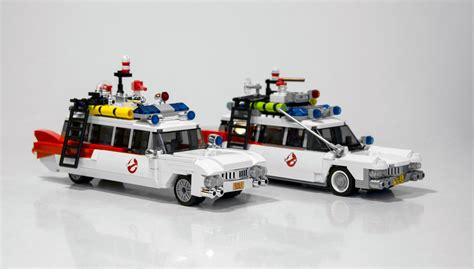Barang Original Lego 75828 Ghostbusters Ecto 1 2 Ideas ghostbusters lego image comparison for the ecto 1 vehicle
