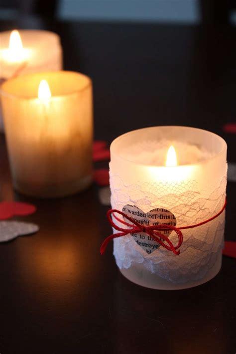Candele San Valentino - san valentino idee per regali fai da te foto