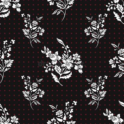 seamless dot pattern vector background stock vector abstract flowers seamless pattern floral vector