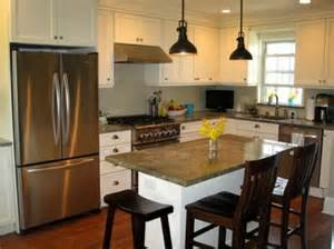 Kitchen island kitchen area and sun shining interesting and