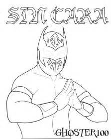 coloring pages of wwe wrestlers coloring home