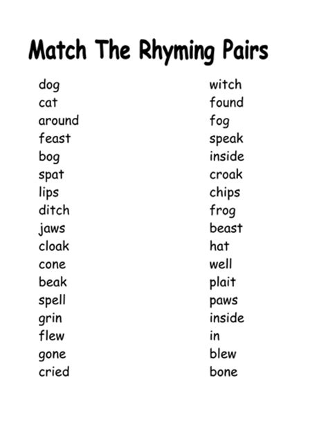 words that rhyme with room quot room on the broom quot literacy activities by fionnualahughes teaching resources tes
