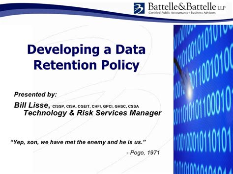 email retention policy template issa data retention policy development