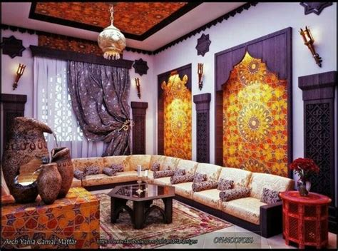 moroccan living rooms need ideas for window treatment to create a moroccan salon