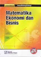 Matematika Ekonomi Dan Bisnis 1 E3 Josep Bintang Kalangi Salemba 1 matematika ekonomi dan bisnis buku 1
