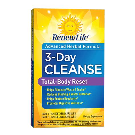 3 Day Liver Detox Plan by 3 Day Cleanse Cleanse Renew