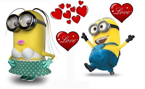 imagenes minions san valentin im 225 genes de minions lindos con frases imagenes de amor