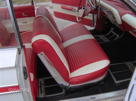 old school upholstery classic striped impala kelly s quality auto upholstery