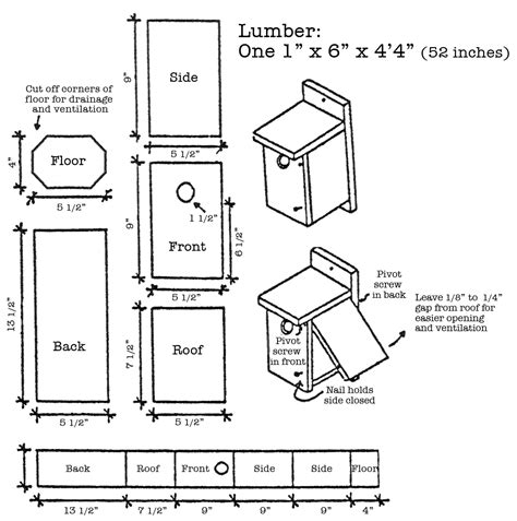 how to build a bluebird house plans bluebird house plans garden pinterest