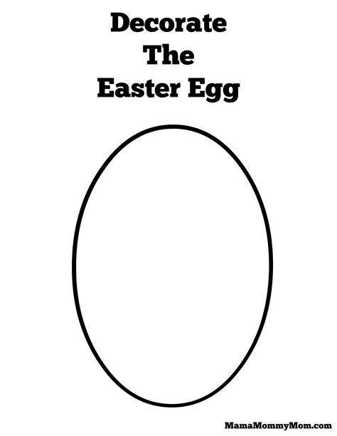 designs your own easter egg templates happy easter 2018