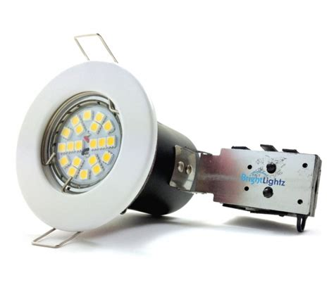 Lu Downlight Halogen 50w white downlight fitting with gu10 7w led bulb