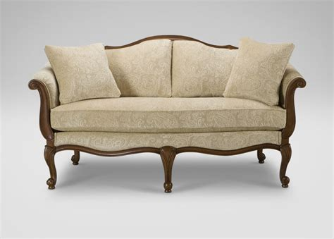 what is a settee sofa evette settee ethan allen