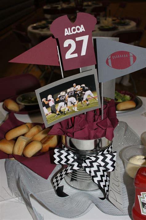 football banquet centerpiece ideas best 20 sports banquet centerpieces ideas on