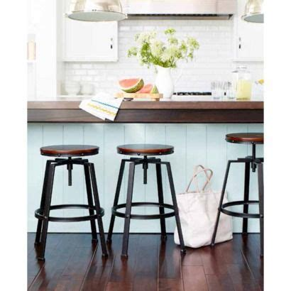 Target Counter Height Stools by Lewiston Adjustable Swivel Barstool Bronze Threshold Industrial Bars Eat In Kitchen And
