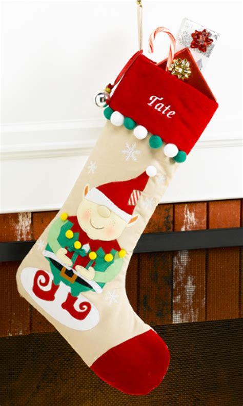 unique christmas stockings elf personalized christmas stocking red velvet corduroy