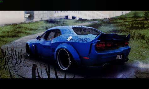 dodge challenger srt8 performance gta san andreas 2012 dodge challenger srt8 liberty walk lb
