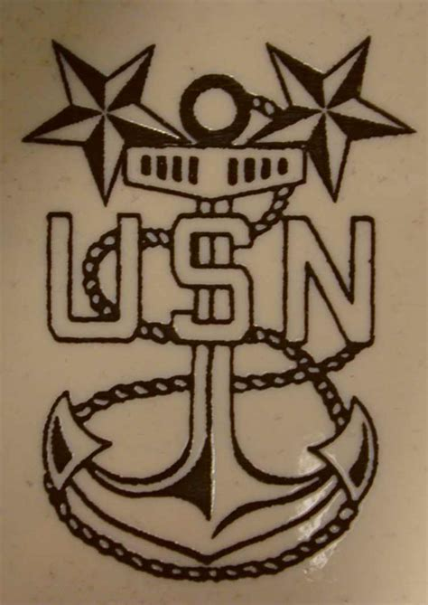 navy master chief anchor tattoo www pixshark com