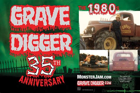 the original grave digger monster 100 the original grave digger monster truck 1 10