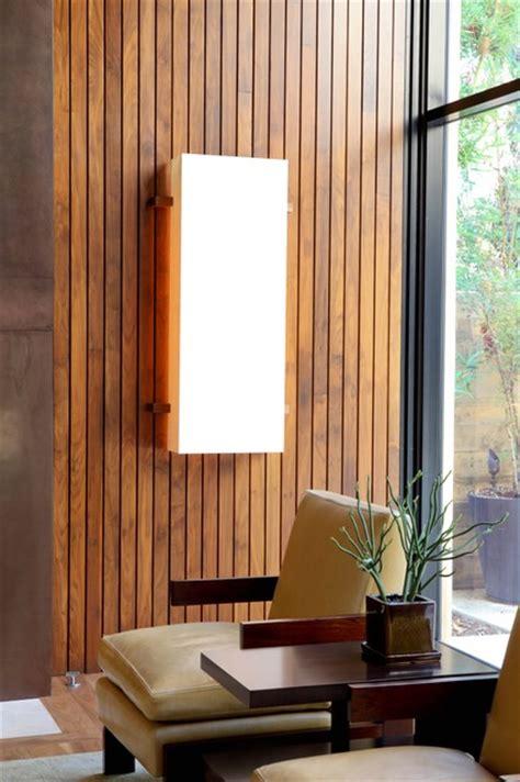 modern wood slat wall william hefner architecture interiors landscape