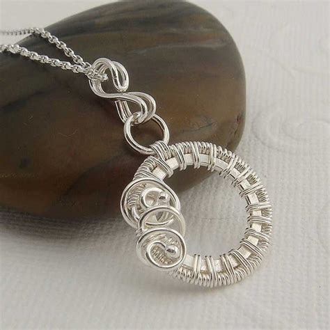 what is wire wrapping in jewelry wire wrap jewelry addicted to wire necklaces