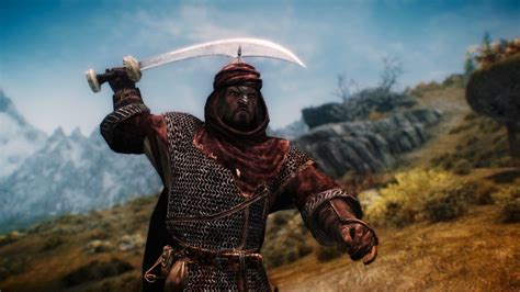 skyrim nexus mods and community redguard knight armor at skyrim nexus mods and community