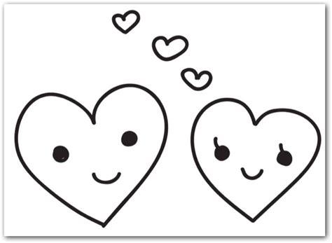imagenes bonitas para colorear de corazones pintemos corazones para regalar a enamorados colorear