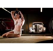 Classic Cars And Vintage Pin Up Poses Gallery 6  Sad Man