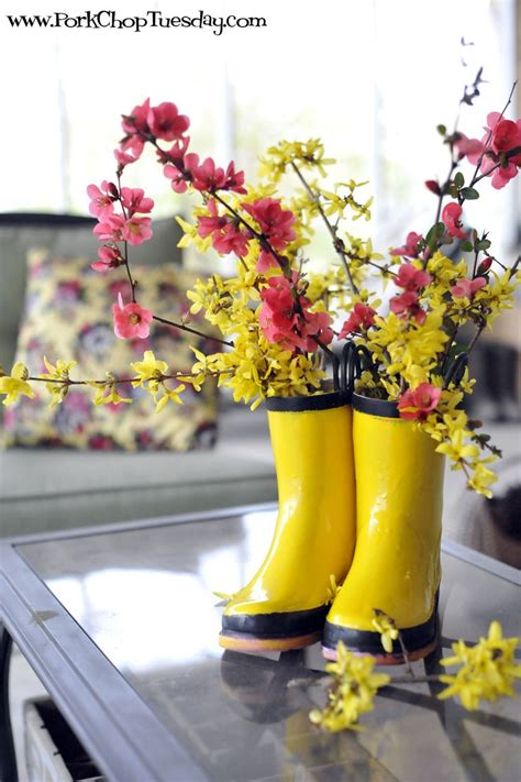 Sp Boot Flower White 15 best images about rainboots flowers on recycling white flowers and vase