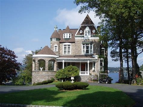 waterfront castle for sale in mt arlington valley