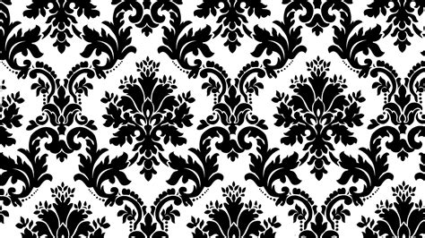 Black And White Pattern Backgrounds Pixelstalk Net Ornament Stencil Template