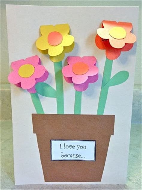Crafts Made From Construction Paper - s day construction paper vase family crafts